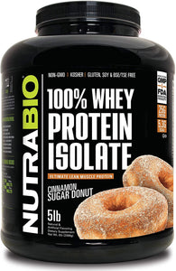 100% Whey Protein Isolate 5lb - PNC Maine