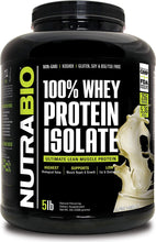Load image into Gallery viewer, 100% Whey Protein Isolate 5lb