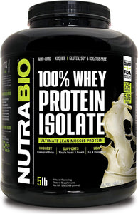 100% Whey Protein Isolate 5lb