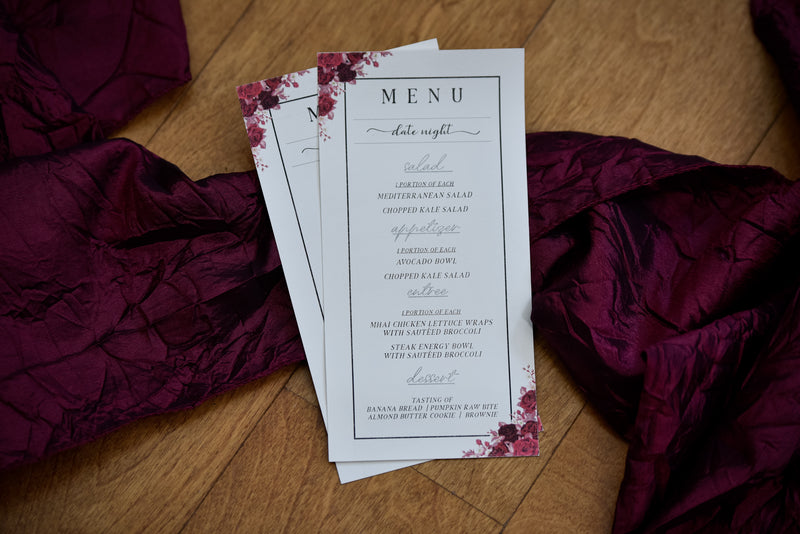 Romance 4-Course Personalized Private Event (Premium)