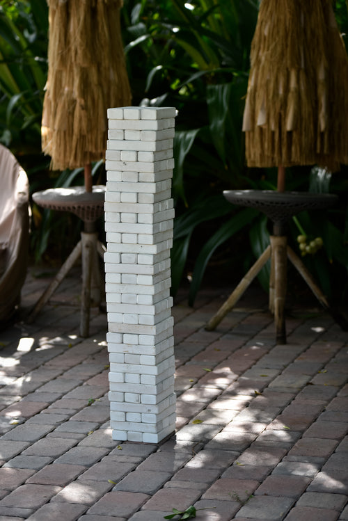 Backyard Fun Package: Cornhole and Giant Jenga