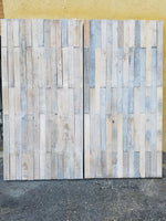 8'x8' Pallet Wall