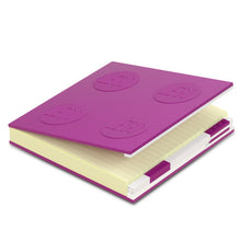 Load image into Gallery viewer, LEGO Stationery Locking Notebook and Gel Pen-Violet