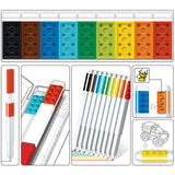 LEGO Stationery 9 Pack Marker