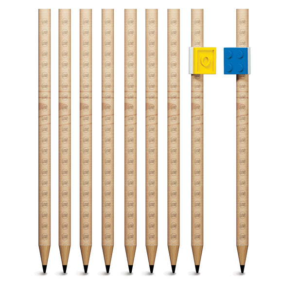 LEGO Stationery 9 Pack Graphite Pencil
