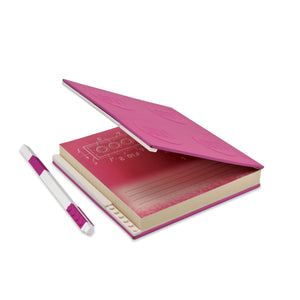 LEGO Stationery Locking Notebook and Gel Pen-Violet