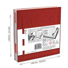Load image into Gallery viewer, LEGO StationeryLocking Notebook and Gel Pen-Red