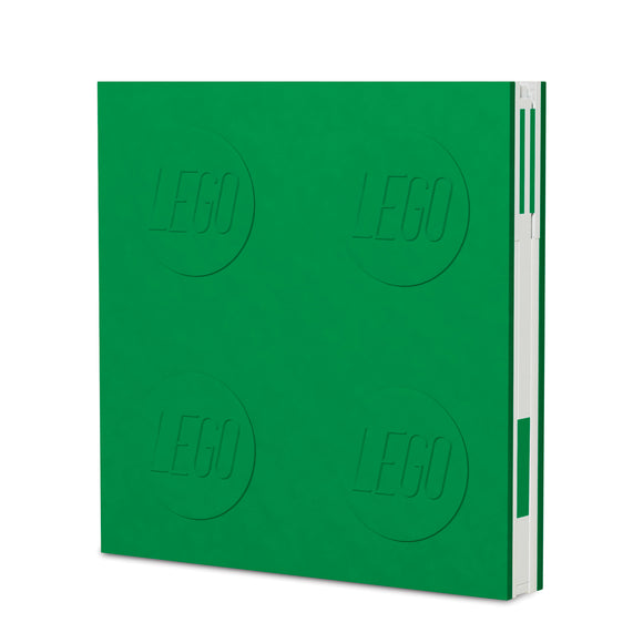 LEGO Stationery Locking Notebook and Gel Pen-Green