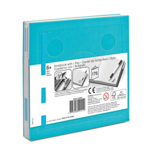 Load image into Gallery viewer, LEGO Stationery Locking Notebook and Gel Pen-Light Blue