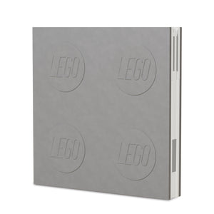 LEGO Stationery Locking Notebook and Gel Pen-Grey