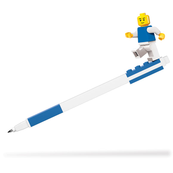 LEGO Stationery 2.0 Gel Pen w/ Minifigure Set - Blue