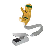 LEGO Ninjago Legacy Gold Ninja 175% Scale Minifigure LED USB Book Light
