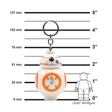Load image into Gallery viewer, LEGO Star Wars BB-8 Minifigure LED Key Light