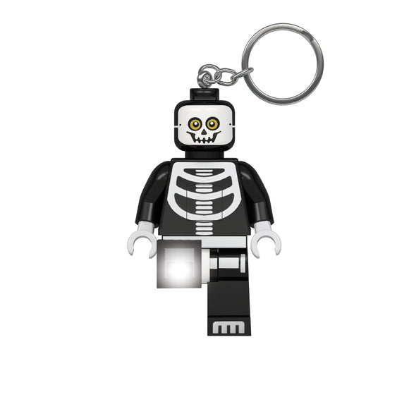 LEGO Classic Skeleton 175% Scale Minifigure LED Keychain Light