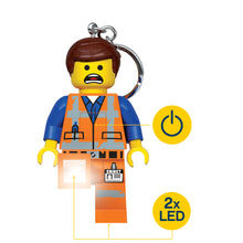 Load image into Gallery viewer, LEGO Movie 2 Emmet 175% Scale Minifigure LED Key Light