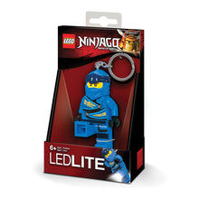 Load image into Gallery viewer, LEGO Ninjago Legacy Jay 175% Scale Minifigure LED Key Light