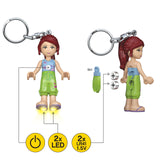 LEGO Friends Mia 175% Scale Minifigure LED Keychain Light
