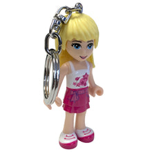 Load image into Gallery viewer, LEGO Friends Stephanie 175% Scale Minifigure LED Keylight