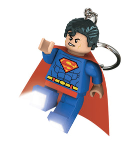 LEGO DC Super Heroes Superman 175% Scale Minifigure LED Keychain Light