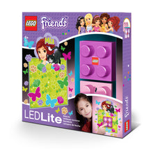 Load image into Gallery viewer, LEGO Friends Mia Brick LED Night Light  and wall Decals