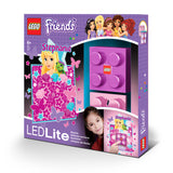 LEGO Friends Stephanie Brick LED Night Light  and wall Decals