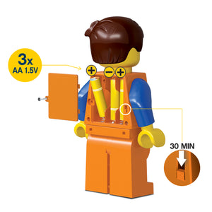 LEGO Movie 2 Emmet  475% Scale Minifigure LED Torch