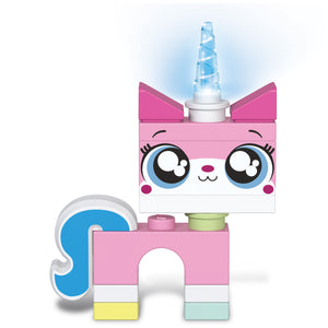 The LEGO Movie 2 Unikitty 158mm (6in) Tall Figure with LED Lighted Horn