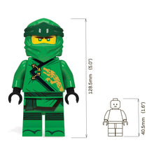 Load image into Gallery viewer, LEGO Ninjago Legacy Lloyd 300% Scale Minifigure LED Torch