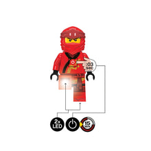 Load image into Gallery viewer, LEGO Ninjago Legacy Kai 300% Scale Minifigure LED Torch