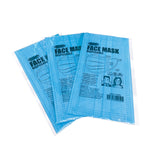 GYMO Adult Face Mask - 50 Count - Individually Wrapped in CDU