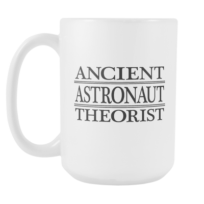 Ancient Astronaut Theorist 15oz Mug, Ancient Astronaut Theorists - Agile Expressions