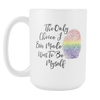The Only Choice I Ever Made Was To Be Myself, 15oz Pride Mug, LGBTQ Pride, LGBTQ Gifts - Agile Expressions