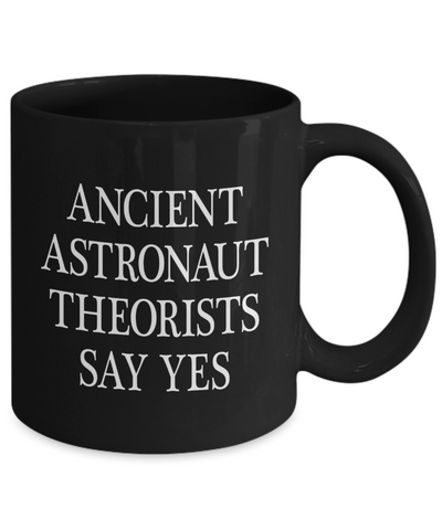 Ancient Astronaut Theorists Say Yes - Agile Expressions