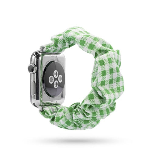 Checkered Green - The Wrist Bandit