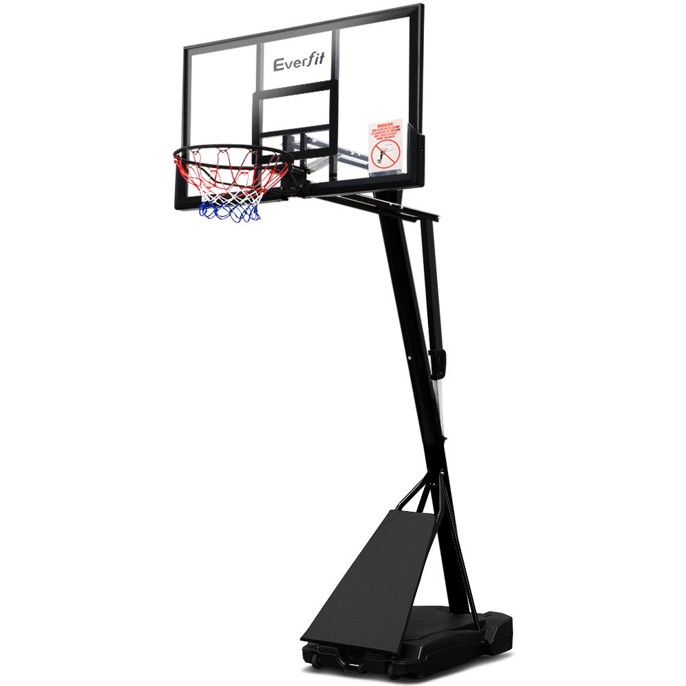 Everfit Pro Portable Basketball Stand System Ring Hoop Net Height Adjustable 3.05M - Everfit Australia Home Gym Fitness Sports Equipment