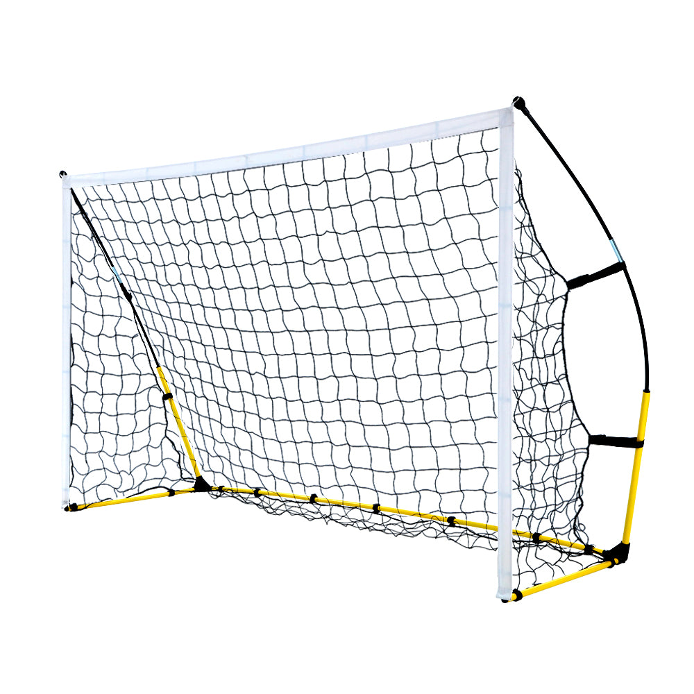 Everfit Portable Soccer Football Goal Net Kids Outdoor Training Sports - Everfit Australia Home Gym Fitness Sports Equipment