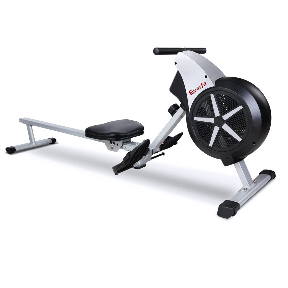 Everfit 8 Level Rowing Exercise Machine - Everfit Australia Home Gym Fitness Sports Equipment