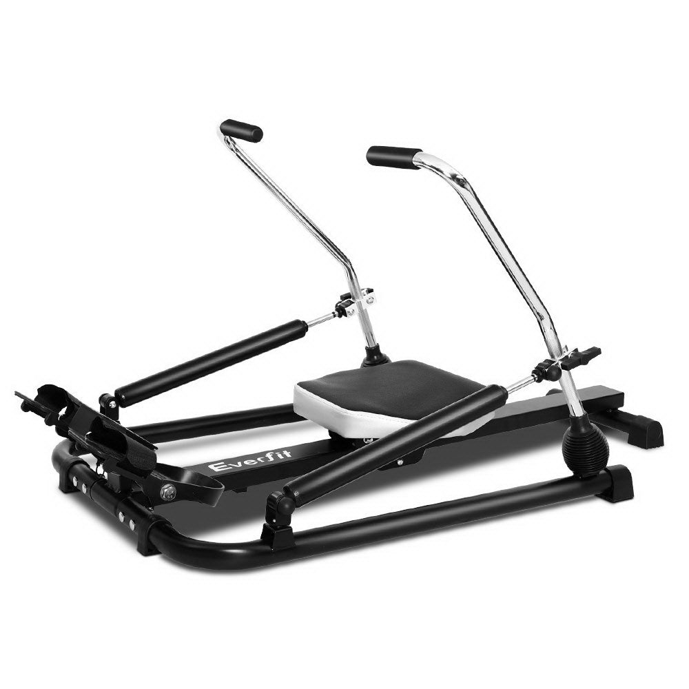 Everfit Rowing Exercise Machine Rower Hydraulic Resistance Fitness Gym Cardio - Everfit