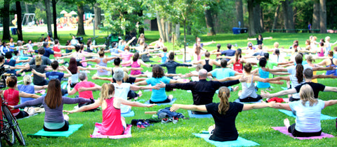 Yoga in High Park