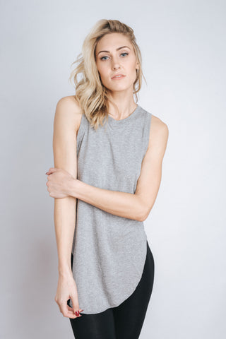 Free Label Grey Betty Tank