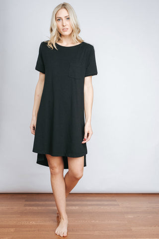 Free Label Black Evan T-Shirt Dress