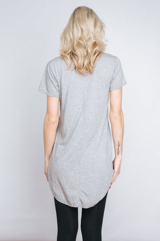 Free Label Grey Johnny Tee