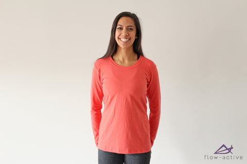 ModRobes, Modrobes Euca Blend Tee (Long Sleeve) - FLOW-active