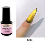 8ml Shiny 9D Wide Cat Eye Nail Gel Polish Magnetic Colorful