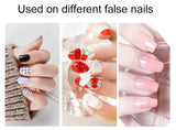 5Sheet-10Sheet False Nails Sticker Transparent Double-Side Adhesive Tapes Stickers