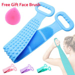 Exfoliating Back Brush Belt Wash Clean . - SourcesOfBeauty
