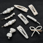 Fashion Women Full Pearl Hair Clips - SourcesOfBeauty