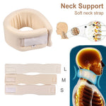 Adjustable Foam Health Care Neck Braces Collar Dislocation Fix Cervical Pain Relief Posture Corrector Neck Supports Caring