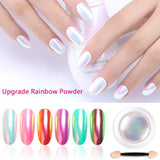 Nail Art Rainbow Neon Powder