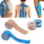 Waterproof Muscle Support Adhesive Elastic Kinesiology Tape  Recovery Pain Relief
